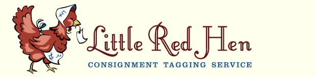 Little Red Hen Consignment Taging